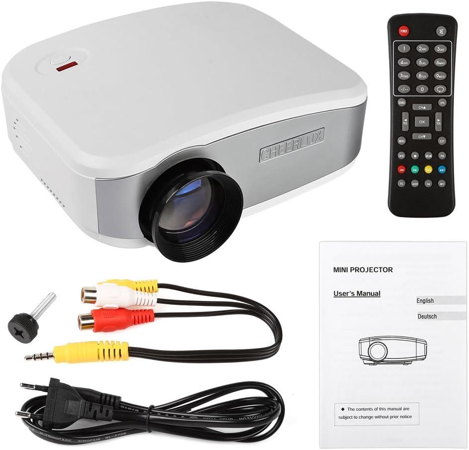 Cheer Lux 1080P HD C6 LED 1200: 1 1200 lúmenes Proyector LCD Cine ...