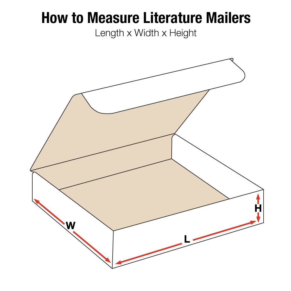 "BOX USA BML10103 Literature Mailers, 10"" x 10\"" x 3\"", White (Pack of 50) 71WCb3kLmvL._SL1500_"