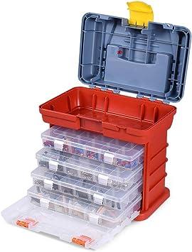 Organizador de almacenamiento de piezas, Caja organizadora caja de ...