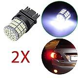 OCPTY 3156 3157 High Power LED Backup Reverse 85SMD 6000K Xenon White Light Bulb Lamp,2Pack