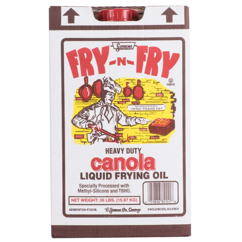TableTop King Admiration Canola Frying Oil - 35 lb.