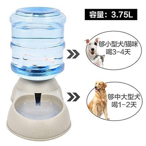 CHENYAJUAN Autoayuda Dispositivo Potable Perro Gato Alimentador Automático Inicio Cat Fijo Ollas De Alimentos Comida De