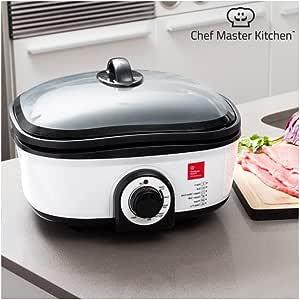 Chef Master Kitchen Quick Cooker Robot de cocina con recetario y ...