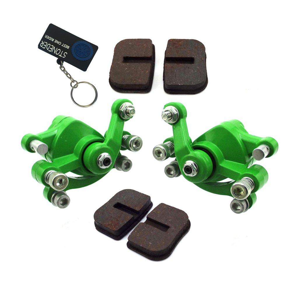 STONEDER Vorne und Hinten Bremse Bremssattel /& Pads f/ür 2/Takt 47/cc 49/cc Mini Moto ATV goped Scooter Kid Schmutz Baby Crosser Pocket Bike Minimoto