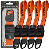 [ Tactical Safety Essentials ] Type-C First Aid Medical Emergency Tourniquet MET Hiking Camping Outdoor Survival Kit Orange