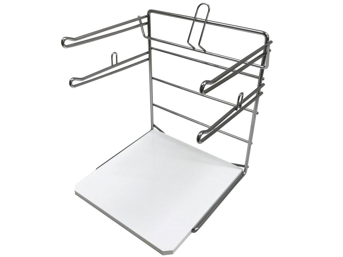 AWP CA-TSBR16 T-Shirt Bag Rack (Pack of 2), Chrome