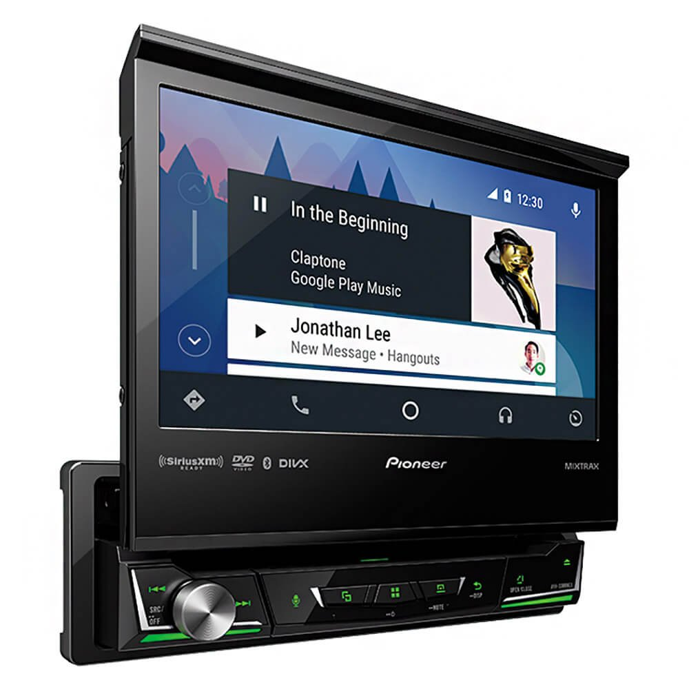 Pioneer AVH-3300NEX double din car stereo with backup camera
