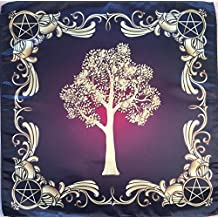 "Wiccan Tree of Might Nature 22""x22"" Cloth Wicca Pagan Witch Shawl"