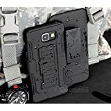 Galaxy A5 2017 Case, Cocomii Robot Armor NEW [Heavy Duty] Premium Belt Clip Holster Kickstand Shockproof Hard Bumper Shell [Military Defender] Full Body Dual Layer Rugged Cover Samsung (Black)