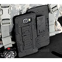 Galaxy A5 2017 Case, Cocomii Robot Armor NEW [Heavy Duty] Premium Belt Clip Holster Kickstand Shockproof Hard Bumper Shell [Military Defender] Full Body Dual Layer Rugged Cover Samsung A520 (Black)