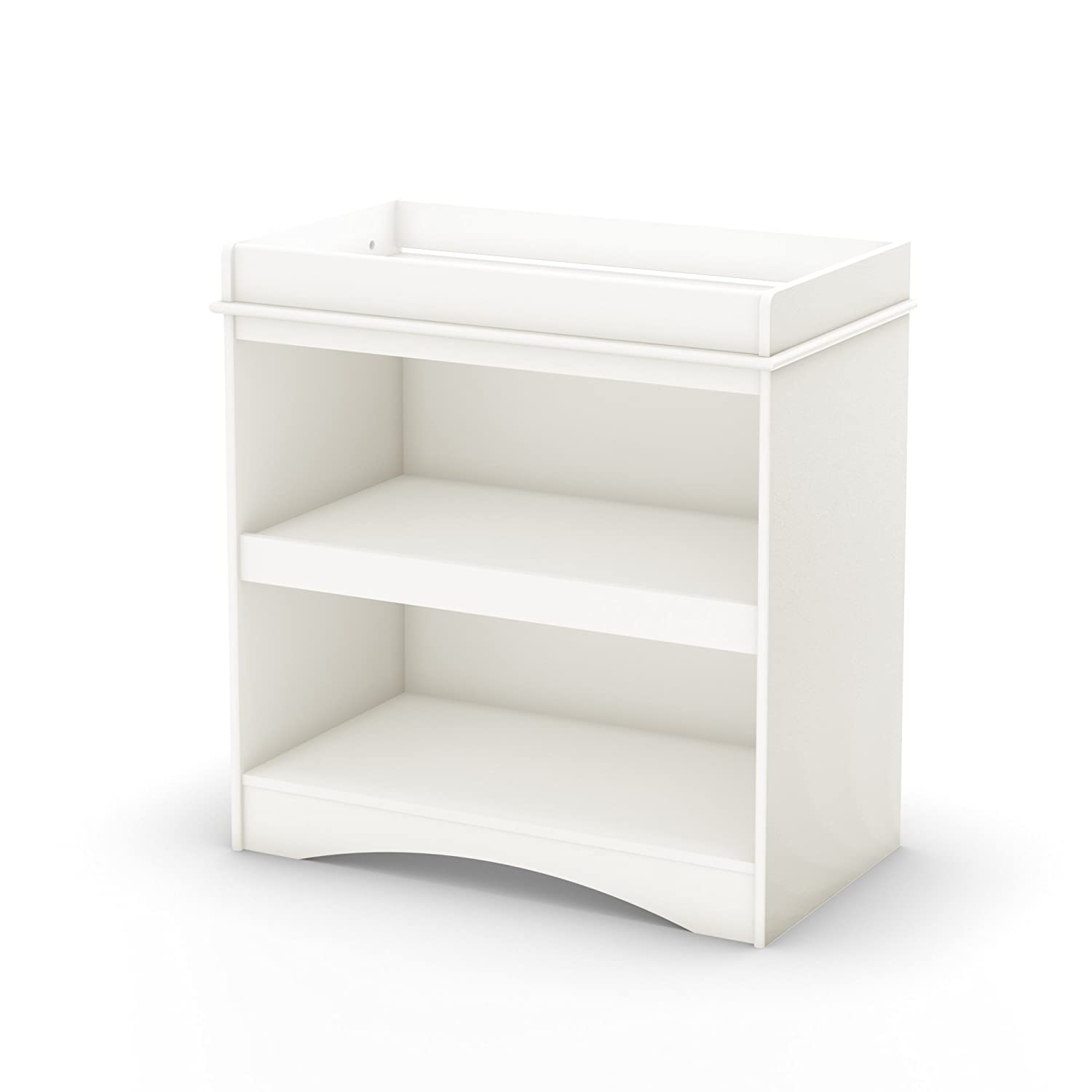 South Shore Furniture South Shore Peak-a-Boo Collection Changing Table, White 2260334