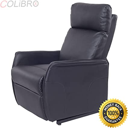 Amazon.com: COLIBROX--Electric Power Lift Chair Recliner Sofa PU ...