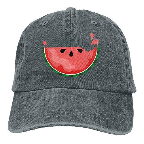 Safan532 Unisex Sweet Watermelon Funny Pattern Summer Fashion Cotton Baseball Cap Adjustable Trucker Hats For Outdoor - Gomez Sweet Selena