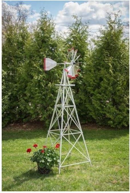 Winguard Aluminum Garden Windmill