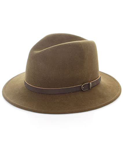 a241abace9c3d Olney Safari Flex Felt Hat MADRAS: Amazon.ca: Clothing & Accessories