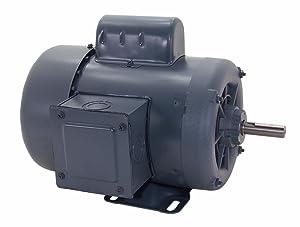 A.O. Smith C311 1/2 HP, 1800 RPM, 1 Speed, 1.25 Service Factor, 56 Frame, Manual Protector, TEFC Enclosure Farm Duty Motor
