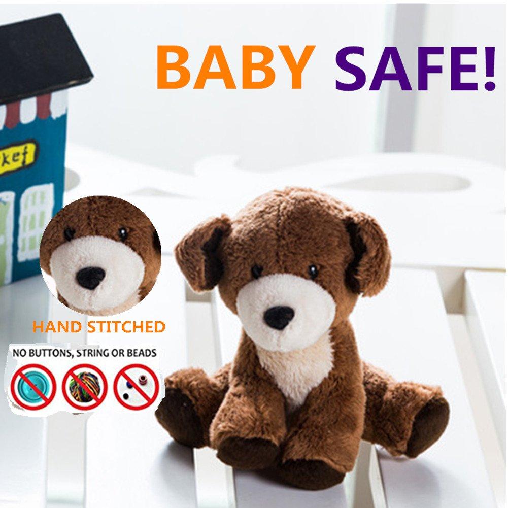 Peluche relleno - Morbuy Sweet Zoo regalo de Navidad para bebés - Con sonidos de la selva, muñeco de trapo, 3.9