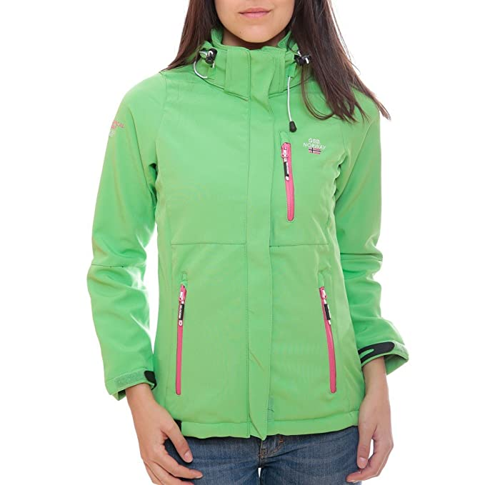 ac58c46971a Norway Verde es Para Amazon Ropa Chaqueta Mujer L Geographical OH1wd6xO