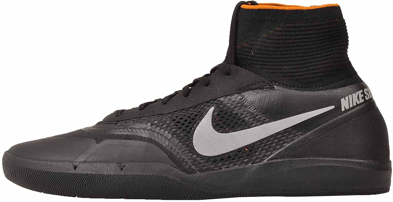 Boda civilización compensar  Amazon.com: Nike Air Zoom SB Hyperfeel Eric Koston 3 XT Sneaker Shoes  black/silver/orange: Shoes