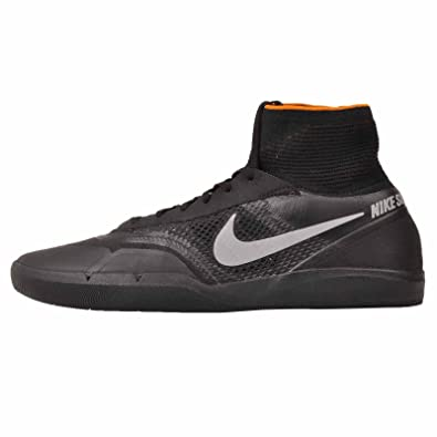 pretty nice 945ec dd734 Amazon.com  Nike Air Zoom SB Hyperfeel Eric Koston 3 XT Sneaker Shoes black silver orange,  EU Shoe Size 46 EU, Color black  Shoes