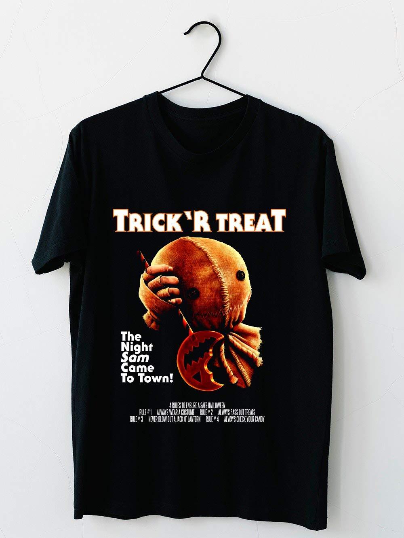 Trick R Treat Halloween Mashup T Shirt T Shirt For Unisex