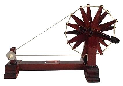 Mini Gandhi Charkha   Wooden Charkha   Spinning Wheel