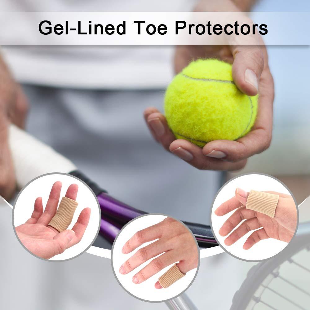 Amazon.com: Dr. Foots Toe Tubes, Fabric Sleeve Protectors ...