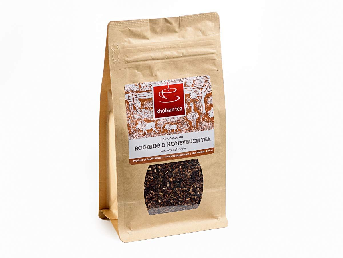 Khoisan Tea 100% Organic Rooibos Honeybush Blend Loose Tea 200g