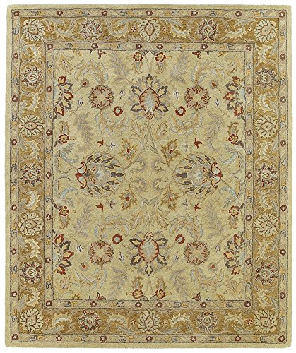05 By Ivory Rug (Kaleen Rugs Solomon Collection 4053-05 Gold  Hand Tufted 2' x 3' Rug)