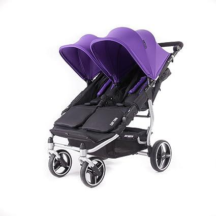 Baby Monsters- Silla Gemelar Easy Twin 3.0.S (Silver) - Color Morado ...