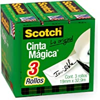 Scotch Brand Magic Tape, Standard Width, Versatile, Photo-Safe, Engineered for Repairing, Great for Gift Wrapping, 3/4 x…