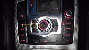 Genuine OEM Audi Repair Kit For Joystick MMI Knob - A4 A5 A6 Q5 Q7 S5 S6 S8
