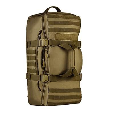 doxungo Sac de randonnée 60L wassed vide sac à dos de randonnée femme homme tactique sac à dos multifonctions sac à dos grand pour Trip, Voyage, Randonnée, camping, l'Alpinisme, Outdo