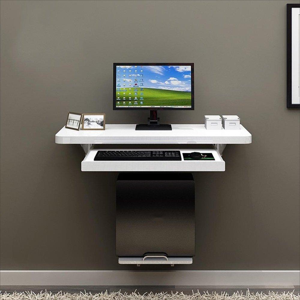 NAN ホームオフィスのための壁掛けテーブルコンピュータのPCラップトップデスク子供、子供、白 ワークベンチ (サイズ さいず : 80センチメートル) B07DZC7DLK 80センチメートル 80センチメートル