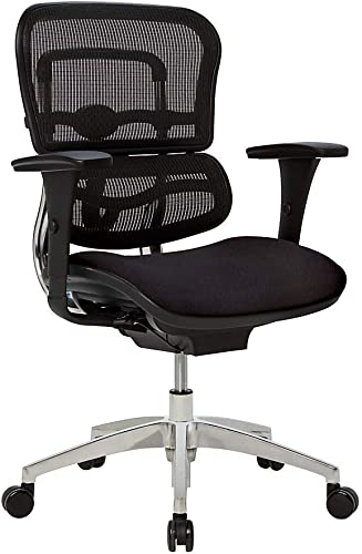WorkPro 12000 Mesh/Fabric Managerial Mid-Back Chair