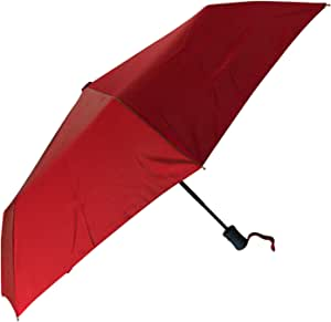 Orbisey Compact Auto Open and Close One-Handed Outdoor Rain Umbrella - Durable, Lightweight, One Button Press to Open and Close