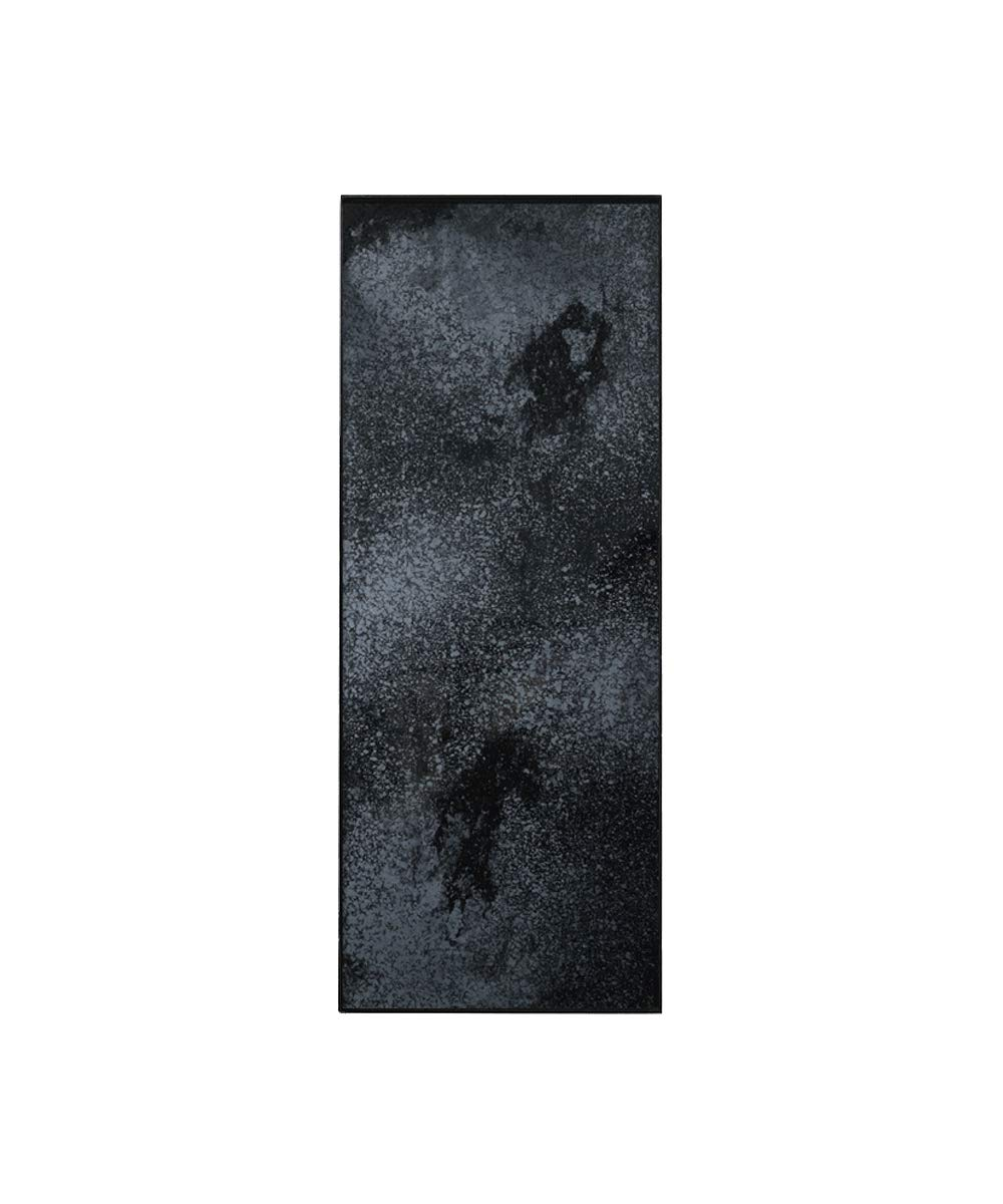 [NOTRE MONDE] トレイチャコールL/滑り止め ノンスリップ お盆 かわいい カフェ B07SCM4NYN