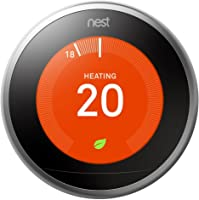 Nest Learning Thermostat, 3rd Generation (Works with Amazon Alexa)