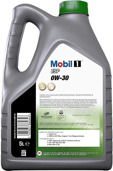 Mobil 1 Esp 0w 30 5l Auto