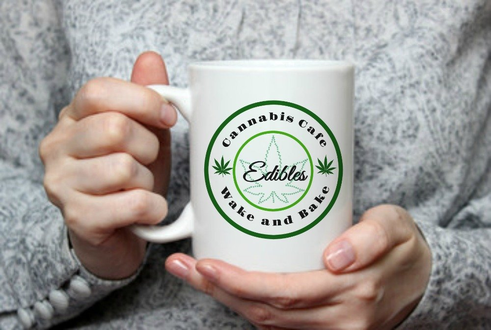 Amazon.com: Cannabis Cafe/Wake and Bake/Coffee Mug/Marijuana / Weed/Edibles / Original Gift Idea by For You By Rose/THC / Funny Mug/Birthday Gift/Stoner (11 ...