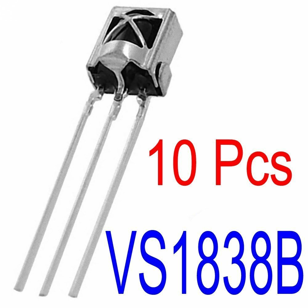 Sunkee 10 Pcs 365buying 1838 Infrared Receiver Sensor Ir Above Circuit Is The Pair Of Irled And Photo Diode To Detect Line Tl1838 Vs1838b Hx1838 Electronic Industrial