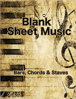 blank sheet music bars chords staves 8 5 x 11 guitar blank