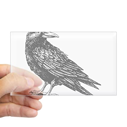 7784ab3d Amazon.com: CafePress Raven Sticker Rectangle Bumper Sticker Car ...