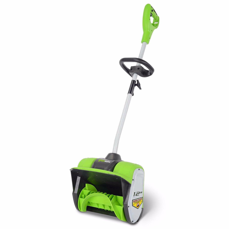 Greenworks 12-Inch 8 Amp Corded Snow Shovel 2600802