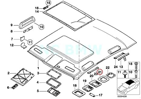 Amazon Com Bmw Genuine Bracket F Ultrasonic Module Top Automotive
