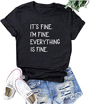 Meikosks Ladies Short Sleeves O-Neck Blouse Letter Printing T Shirt Casual Tops Summer Pullover