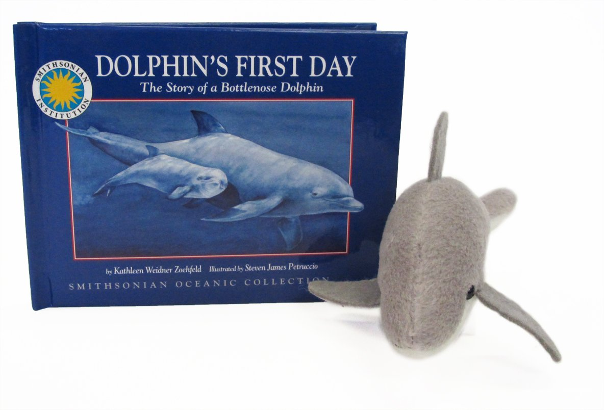 Download Dolphin's First Day: The Story of a Bottlenose Dolphin (Smithsonian Oceanic Collection) (Wildlife Storybook, Companion Stuffed Toy, and Read-Along CD) pdf epub