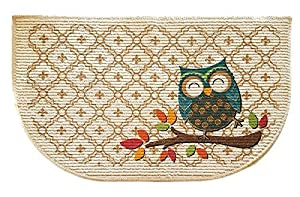 Mainstays Slice Kitchen Rug, Owl Trellis, 18 x 30 Inches (1)