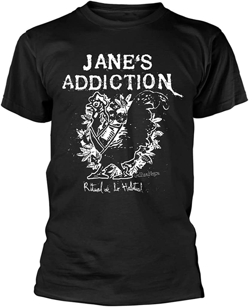 Rooster NEW T-Shirt Mens Jane/'s Addiction