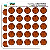 Basketball 1' Planner Calendar Scrapbooking Crafting Stickers - Opaque